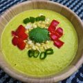 Mexican Cilantro Corn Soup