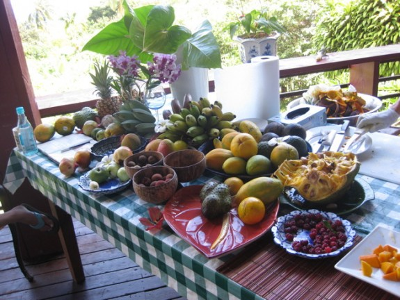 Fruits of Maui. However, these goodies from Ono Farm are difficult to purchase...