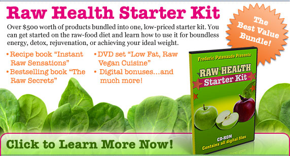 Raw Vegan Starter Kit