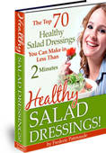 70                                                           Healthy Salad                                                           Dressings