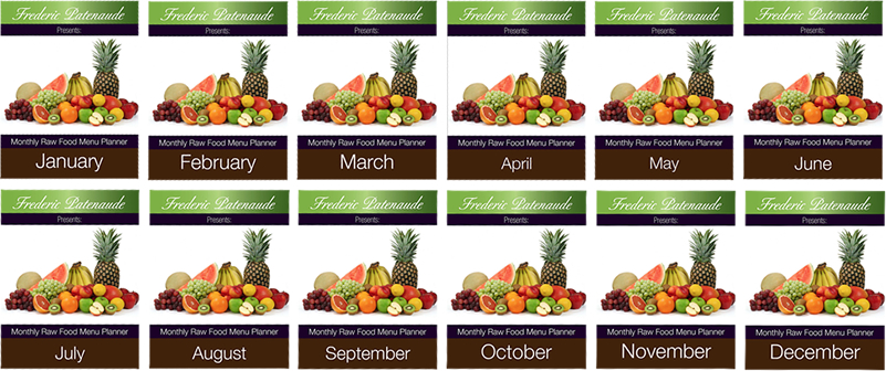 Raw vegan mentor club get an entire year of raw food recipe complete with shopping lists forumfinder Images